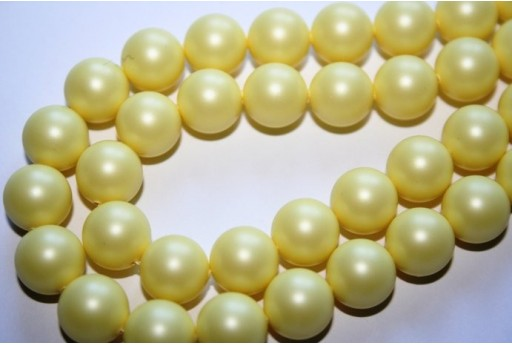 Perle Swarovski Pastel Yellow 5810 10mm - 4pz