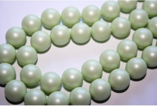 Perle Swarovski Pastel Green 5810 10mm - 4pz