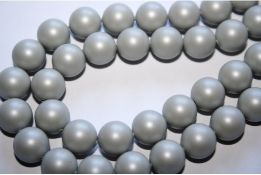 Perle Swarovski Pastel Grey 5810 10mm - 4pz