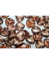 Rose Petals Capri Gold 14x13mm - 10pz