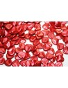 Rose Petals Lava Red 8x7mm - 50pz