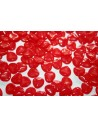 Rose Petals 8X7mm, 50pz., Opaque Red Col.91240