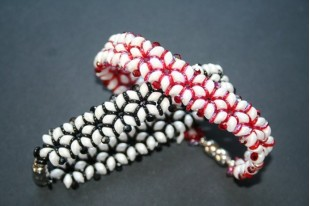 Es-O Beads 5mm, 5gr., Metallic Red