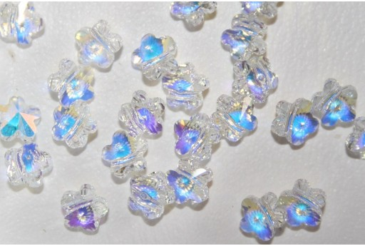 Flower Bead Swarovski 6mm 5744 001AB