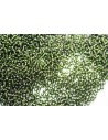 Toho Seed Beads 11/0, 10gr. Silver-Lined Olivine Col.37