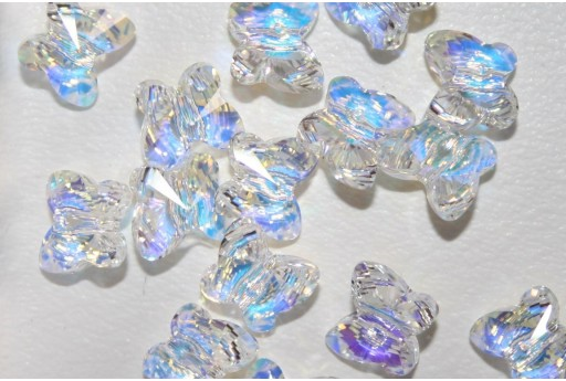 Butterfly Bead Swarovski 8mm 5754 001AB
