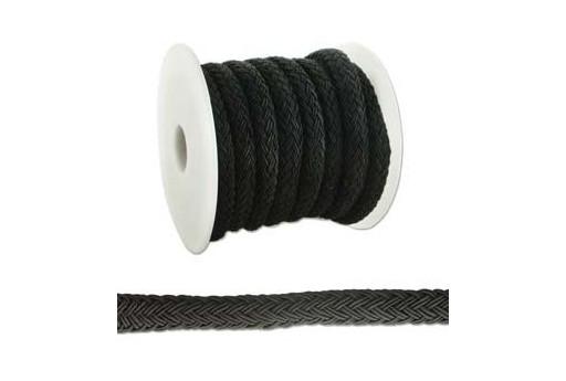 Regaliz Cord 10x8cm Black, 50cm, MIN166C