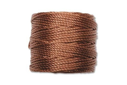 Super-Lon Bead Tex 400 Cord 0,90mm, 32mt., Copper SL1-COP
