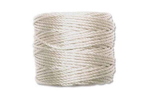 Super-Lon Bead Tex 400 Cord 0,90mm, 32mt., Cream SL1-CR