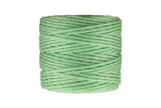 Super-Lon Bead Tex 400 Cord 0,90mm, 32mt., Mint Green SL1-PMG