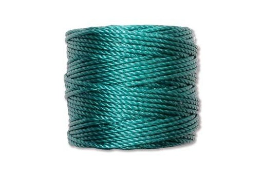 Super-Lon Bead Tex 400 Cord 0,90mm, 32mt., Teal SL1-TE