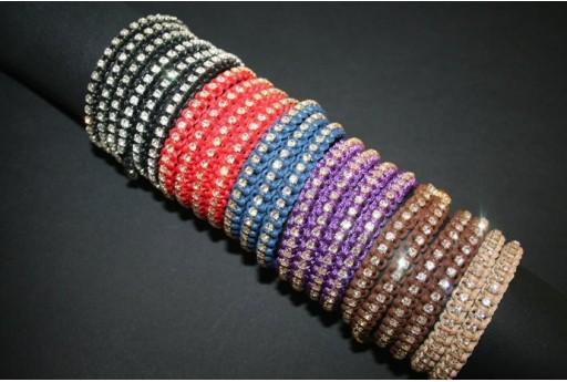 3-Strand Macrame Bracelet Kit Violet