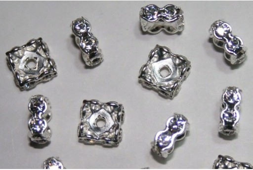 Swarovski Square Spacer 8mm - 2pcs