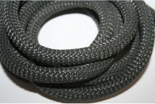 Climbing Cord Daark Grey 10mm - 1mt