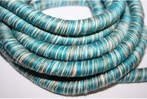 Climbing Cord Rasta Turquoise 10mm - 1mt