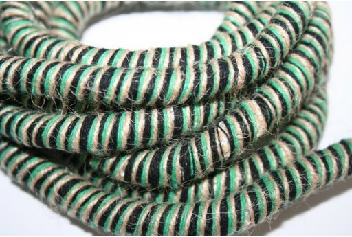 Climbing Cord Rasta Green 10mm - 1mt