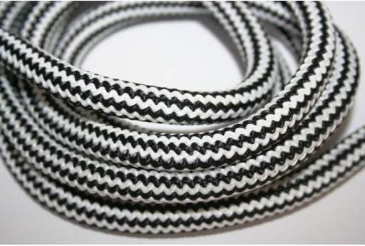 Climbing Cord Black/White 10mm - 1mt