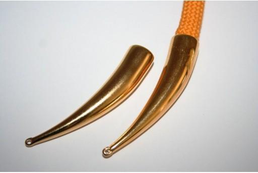 Componente Climbing Tubo Sinistro Colore Oro 66x14mm - 1pz