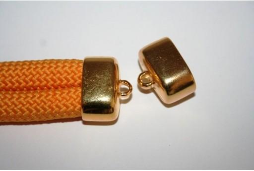 Componente Climbing Tappo 2 Fili Colore Oro 17x23mm CC-66