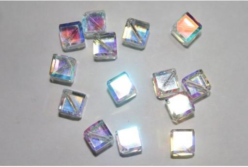 Swarovski Diagonal Cubes 8mm 5600 001AB