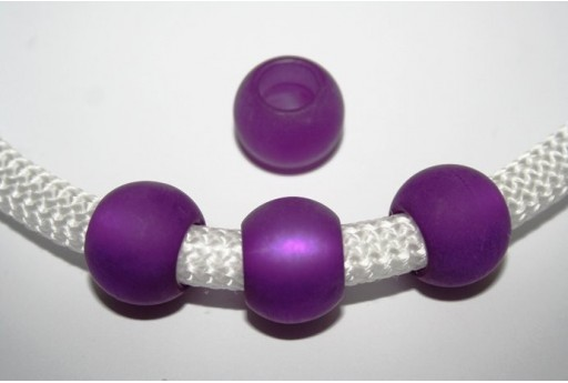 Climbing Purple Polaris Bead 20x10mm - 1pc