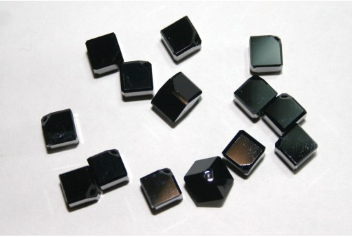 Swarovski Diagonal Cubes 6mm - 2pcs