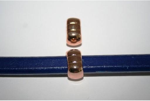 Rondella Regaliz Colore Oro Rosa 9X14mm - 1pz