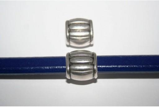 Tubo Regaliz Colore Argento 16X16mm - 1pz