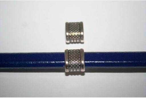 Tubo Regaliz Colore Argento 11X14mm - 1pz