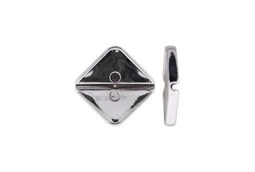 Base per Cabochon Luna Soft Rombo 17mm Cod.LUN01