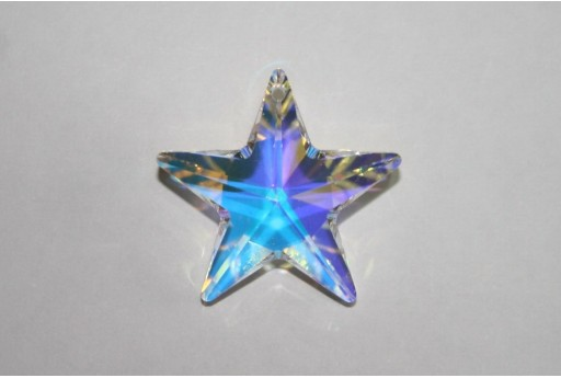 Swarovski Star 28mm Crystal AB 6714