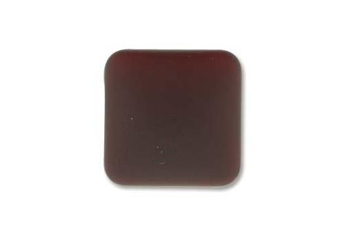 Cabochon Luna Soft Rombo Garnet 17mm - 1pz