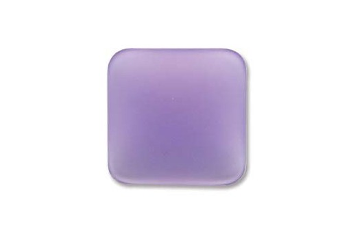 Luna Soft Cabochon Rhomb 17mm., Tanzanite - 1pz