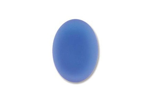 Cabochon Luna Soft Ovale 18,5x13,5mm., Blue Cod.LUN02B
