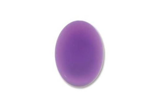 Luna Soft Cabochon Oval 18,5x13,5mm Violet - 12pcs