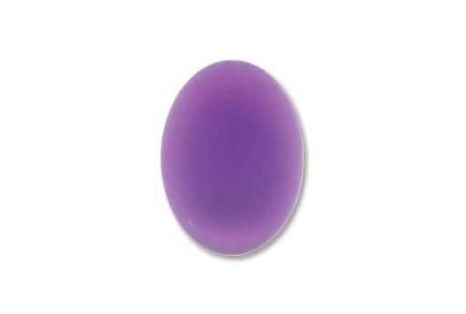 Luna Soft Cabochon Oval 18,5x13,5mm., Violet - 1pz