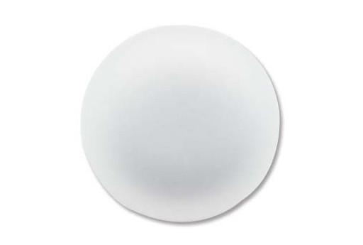 Luna Soft Cabochon Round 24mm., White - 1pz