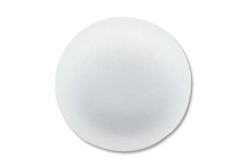 Cabochon Luna Soft Tondo 24mm., Bianco Cod.LUN04A