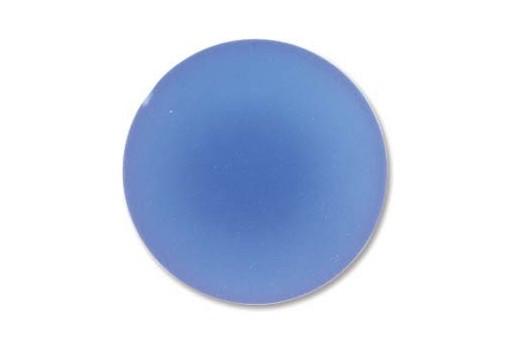 Cabochon Luna Soft Tondo 24mm., Blue Cod.LUN04B