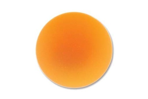 Luna Soft Cabochon Round 24mm., Orange - 1pz