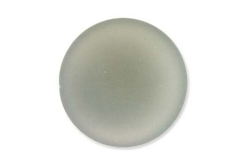 Luna Soft Cabochon Round 24mm., Grey - 1pz