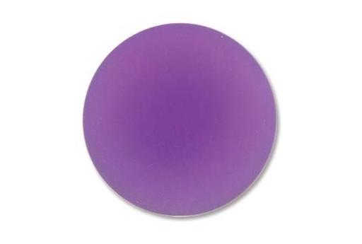 Cabochon Luna Soft Tondo Viola 24mm - 1pz