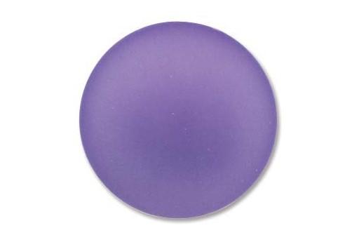 Luna Soft Cabochon Round 24mm., Tanzanite - 1pz