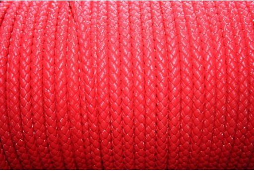 Korean Waxed Cord 6mm Red- 1m COR03A