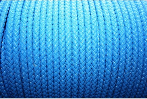 Korean Waxed Cord 6mm Light Blue - 1m COR03B