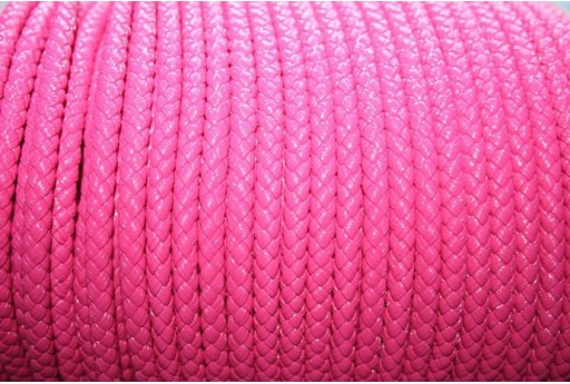Korean Waxed Cord 6mm Fuchsia - 1m COR03D