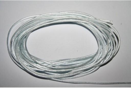 Poliestere Cerato Bianco Ghiaccio 0,5mm - 12mt