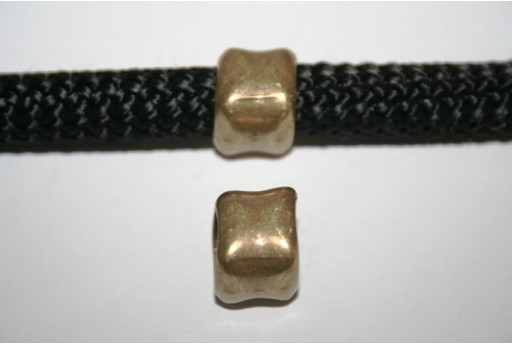 Climbing Bronze Spacer Bead 12X14mm - 1pc