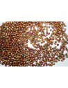 Perline Mezzi Cristalli Bronze Rainbow C 2mm - 80pz
