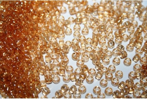 Perline Matubo Beads Luster-Transparent Champagne 7/0 - 10g